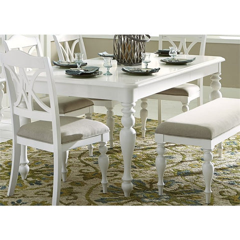 Liberty Summer House I Rectangular Table In Oyster White