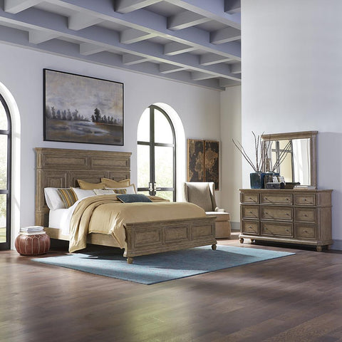 Liberty The Laurels King California Panel Bed, Dresser & Mirror