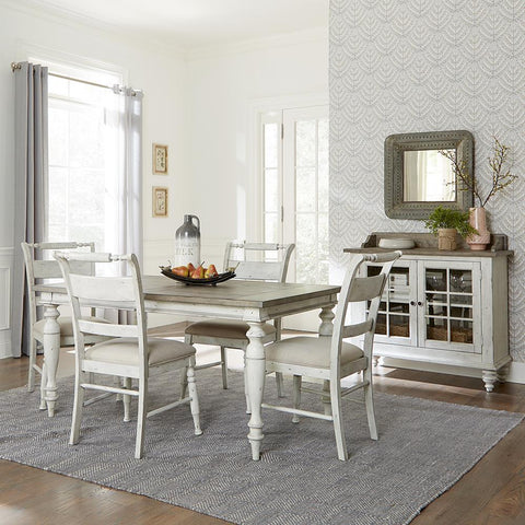 Liberty Whitney 5 Piece Rectangular Table Set