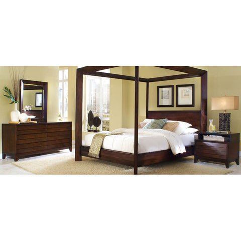Ligna Canali Collection 4 Piece Bedroom Set