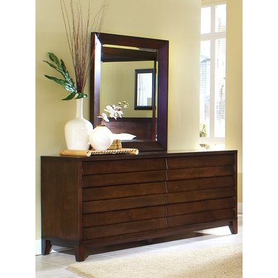 Ligna Canali Collection Dresser & Mirror