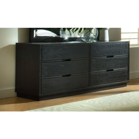 Ligna Metropolitan Collection 6 Drawer Master Dresser