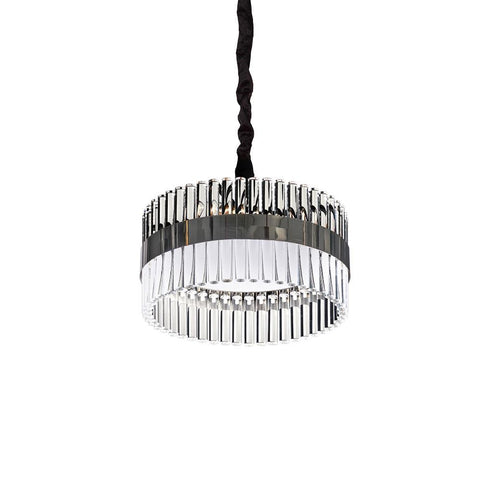 Lucas & McKearn Metro Pendant Simple and Glamourous Kitchen or Dining Room Over Table Chandelier