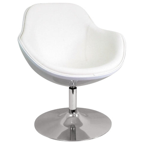 Lumisource Saddlebrook Lounger In White