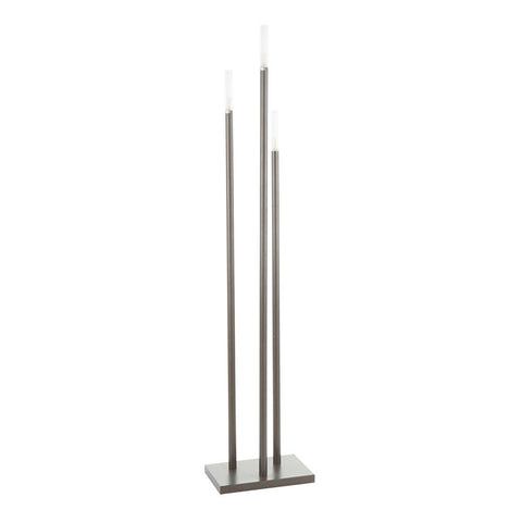 Lumisource Vertical Icicle Contemporary Floor Lamp in Antique Metal