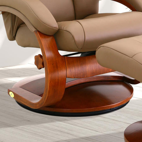 Phenomenal Mac Motion Oslo Mandal Recliner Ottoman W Cervical Pillow Pdpeps Interior Chair Design Pdpepsorg