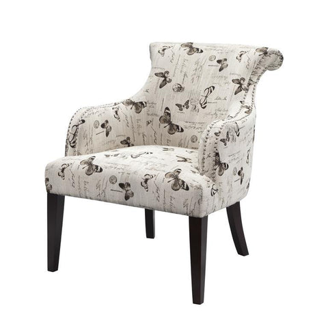 Madison Park Alexis Rollback Accent Chair
