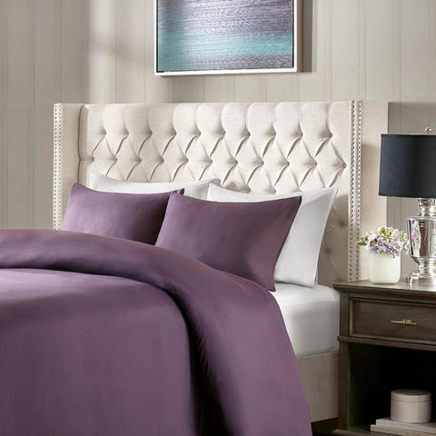 Madison Park Amelia Upholstery Headboard Queen