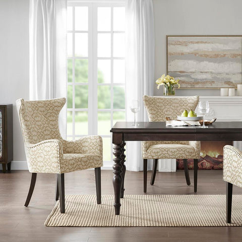 Madison Park Angelica Arm Dining Chair (set of 2) See below