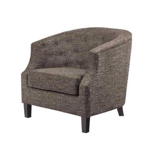 Madison Park Ansley Chocolate Accent Chair