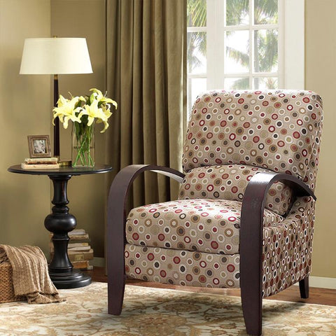 Madison Park Archdale Recliner In Multi