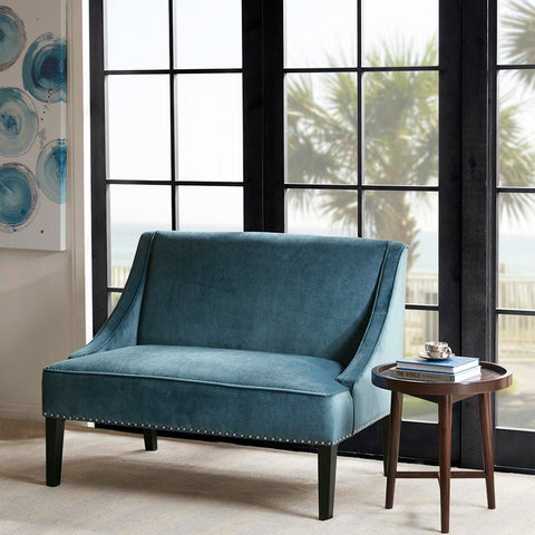 Madison Park Avalon Swoop Arm Settee See below