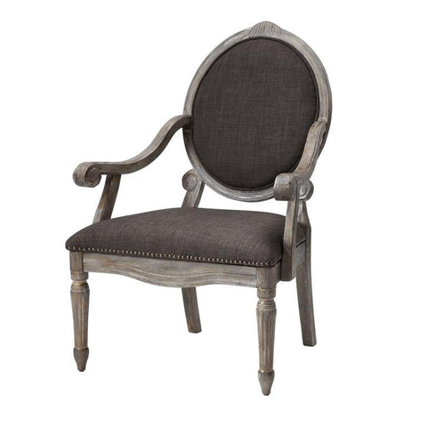 Madison Park Brentwood Accent Chair In Grey