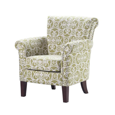 Madison Park Brooke Accent Chair In Green
