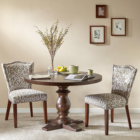 Madison Park Charles Round Dining Table See below