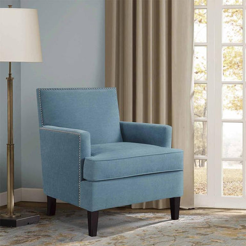 Madison Park Colton Accent Chair In Blue