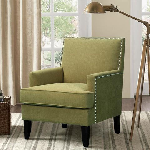 Madison Park Colton Accent Chair In Green