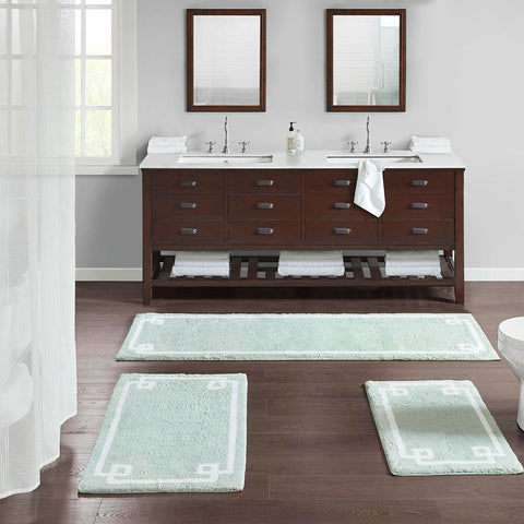 Madison Park Evan Cotton Tufted Bath Rug 24x72""