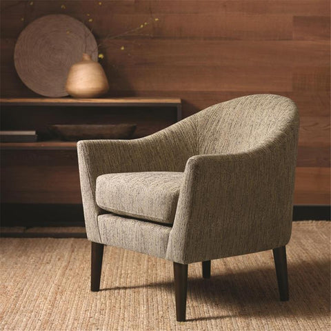 Madison Park Grayson Chair In Grey