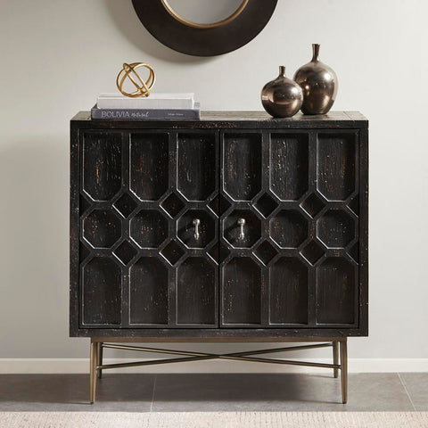 Madison Park Hanley 2 Doors Accent Cabinet See below