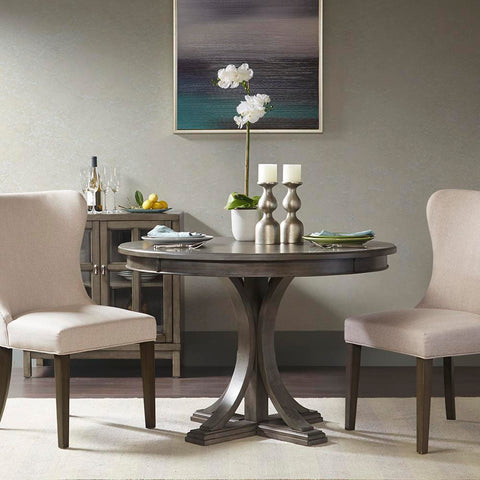 Madison Park Helena Round Dining Table See below