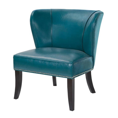 Madison Park Hilton Accent Chair In Blue