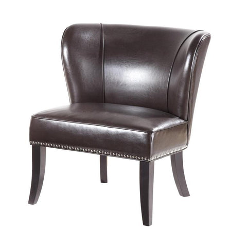 Madison Park Hilton Accent Chair In Brown