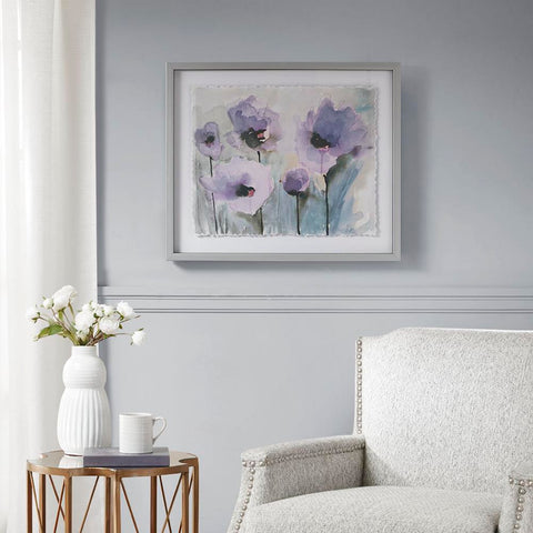 Madison Park Lilac Blooming Spring Frame Graphic