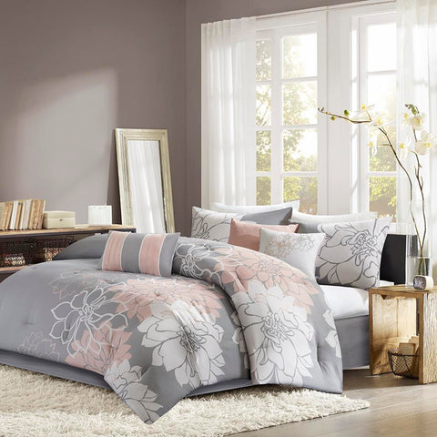 Madison Park Lola Comforter Set Cal King