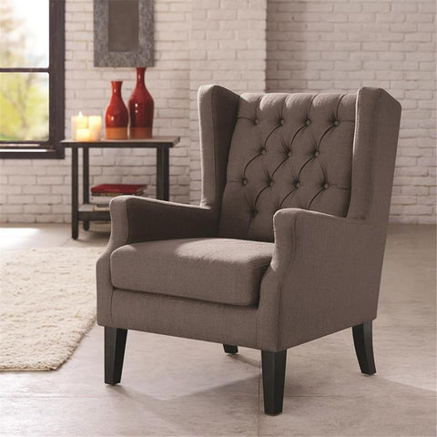 Madison Park Maxwell Chair In Grey