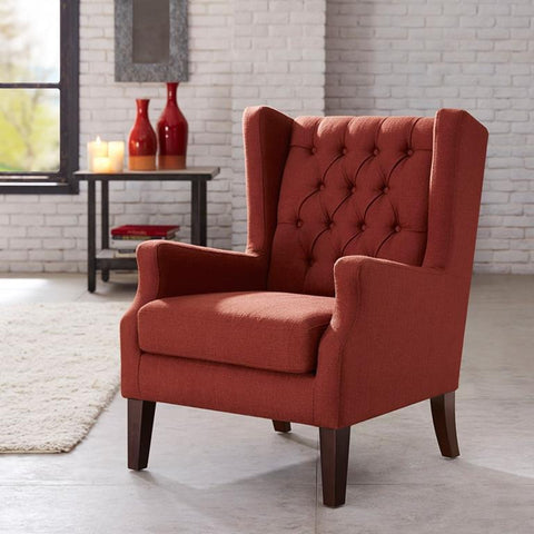 Madison Park Maxwell Chair In Red