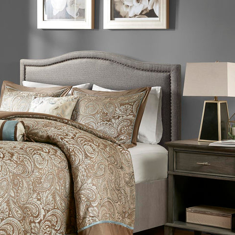 Madison Park Nadine Upholstery Headboard Queen