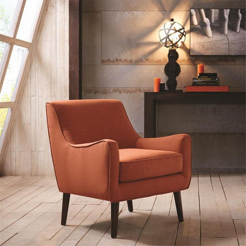 Madison Park Oxford Chair In Orange