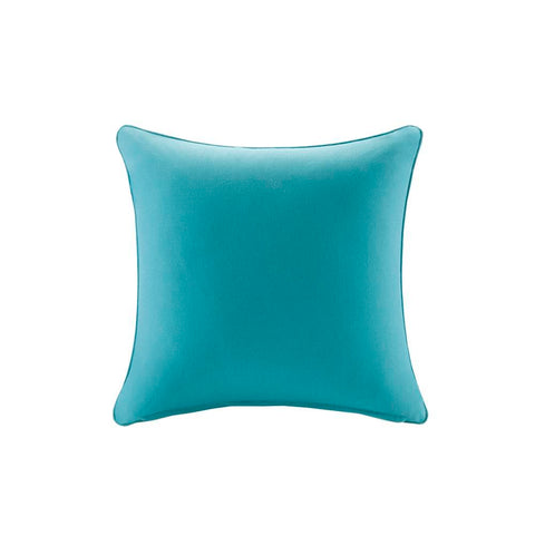 Madison Park Pacifica Solid 3M Scotchgard Outdoor Square Pillow 20x20""