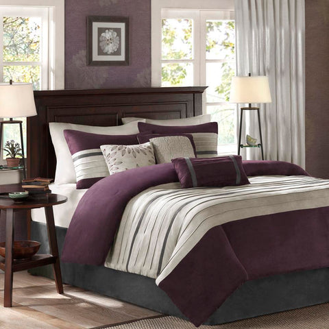 Madison Park Palmer 7 Piece Comforter Set Full