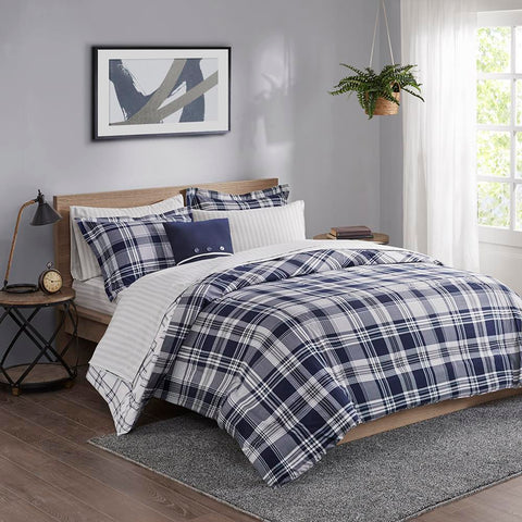 Madison Park Patrick Reversible Complete Bedding Set King