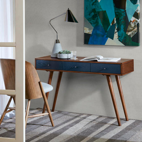 Madison Park Rigby 3 Drawer Writing Desk See below