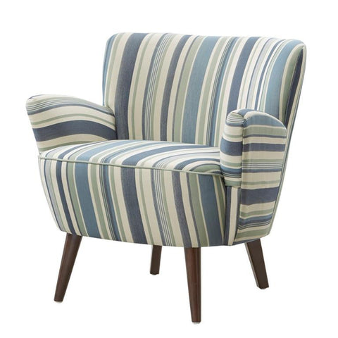 Madison Park Sophie Chair In Blue