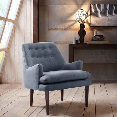 Madison Park Taylor Accent Chair In Blue