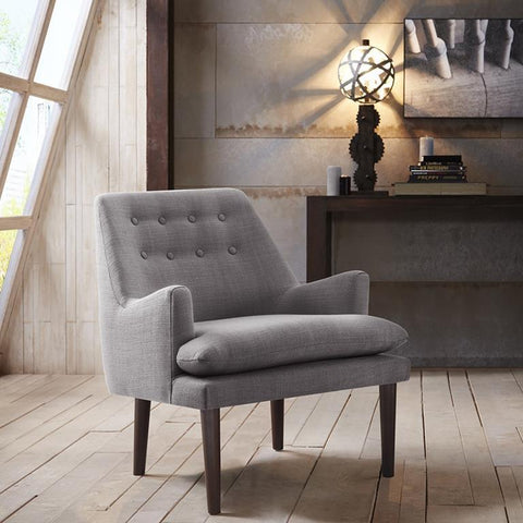 Madison Park Taylor Accent Chair In Grey