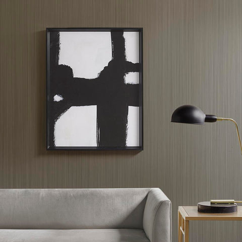 Martha Stewart Directional Ebony Framed Canvas
