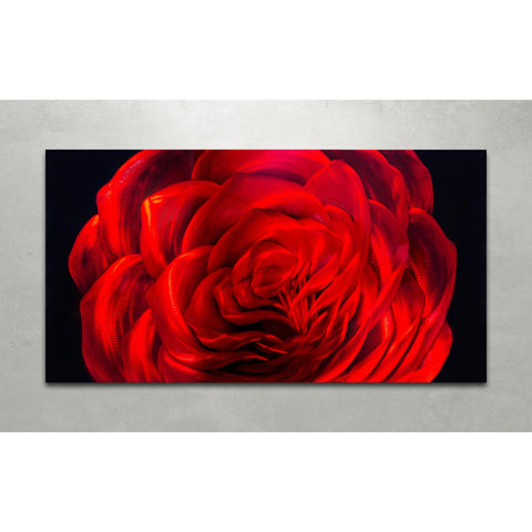 Metal Artscape Midnight Rose