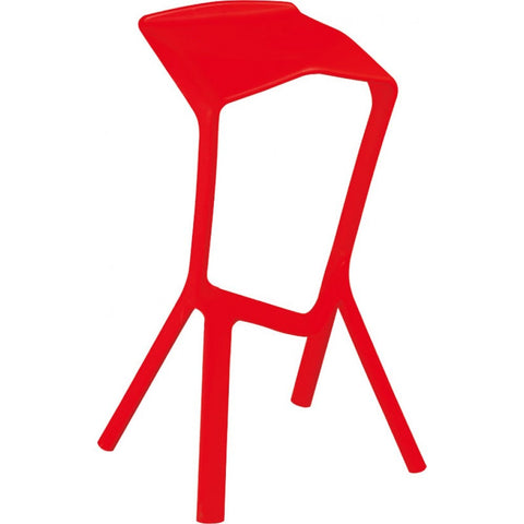 Mod Made Aspect Bar Stool In Red