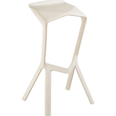Mod Made Aspect Bar Stool In White