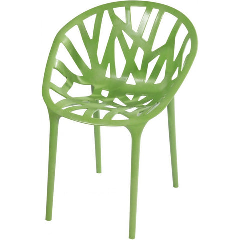 Mod Made Branch Chair In Green