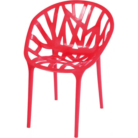 Mod Made Branch Chair In Red