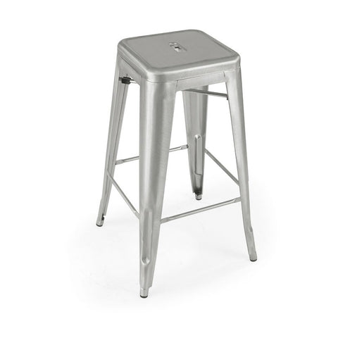 Mod Made Industrial Bar Stool In Gun Metal
