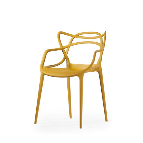 Mod Made Mod Made Loop Chair in Yellow