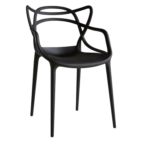 Mod Made Mod Made Loop Chair in Black