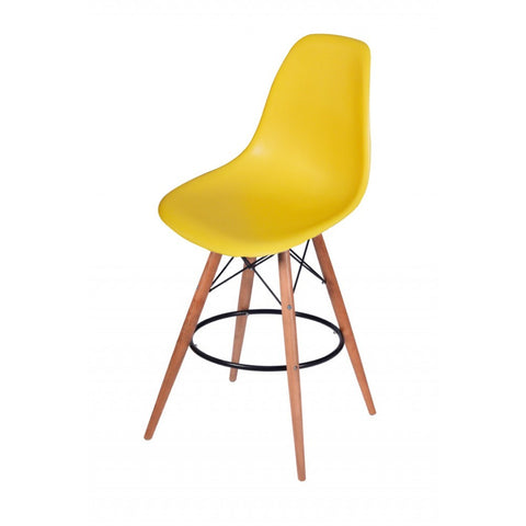 Mod Made Paris Tower Barstool In Yellow